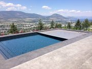 Our Latest Install, Penticton Liner Pool with Grey Auto Cover