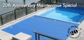 20th Anniversary Pool Cover Maintenance Special
