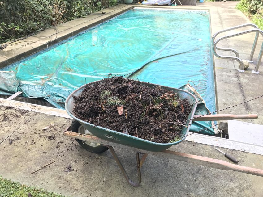 pool cover cleaning service