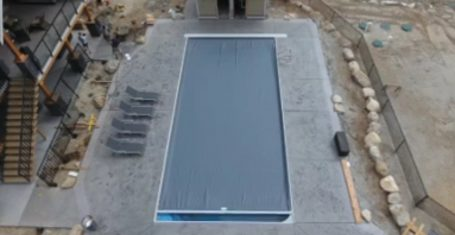 Automatic Safety Pool Cover Demo