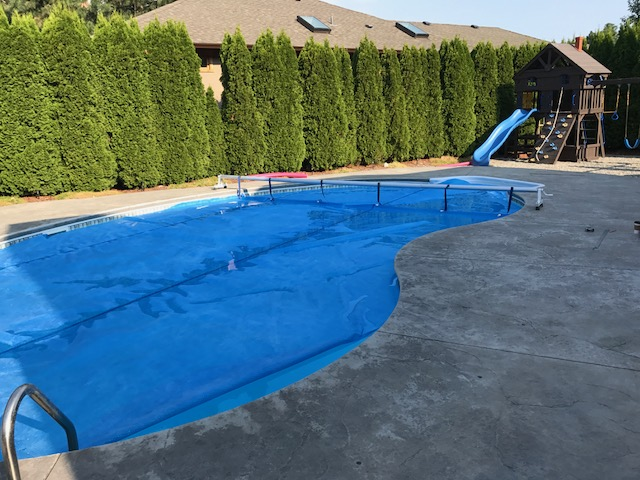 kelowna pool fence installation