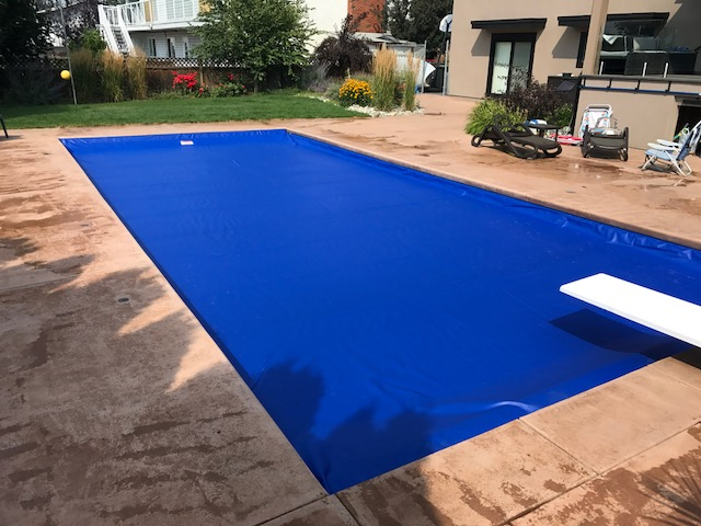 Replacement Pool Cover Fabric