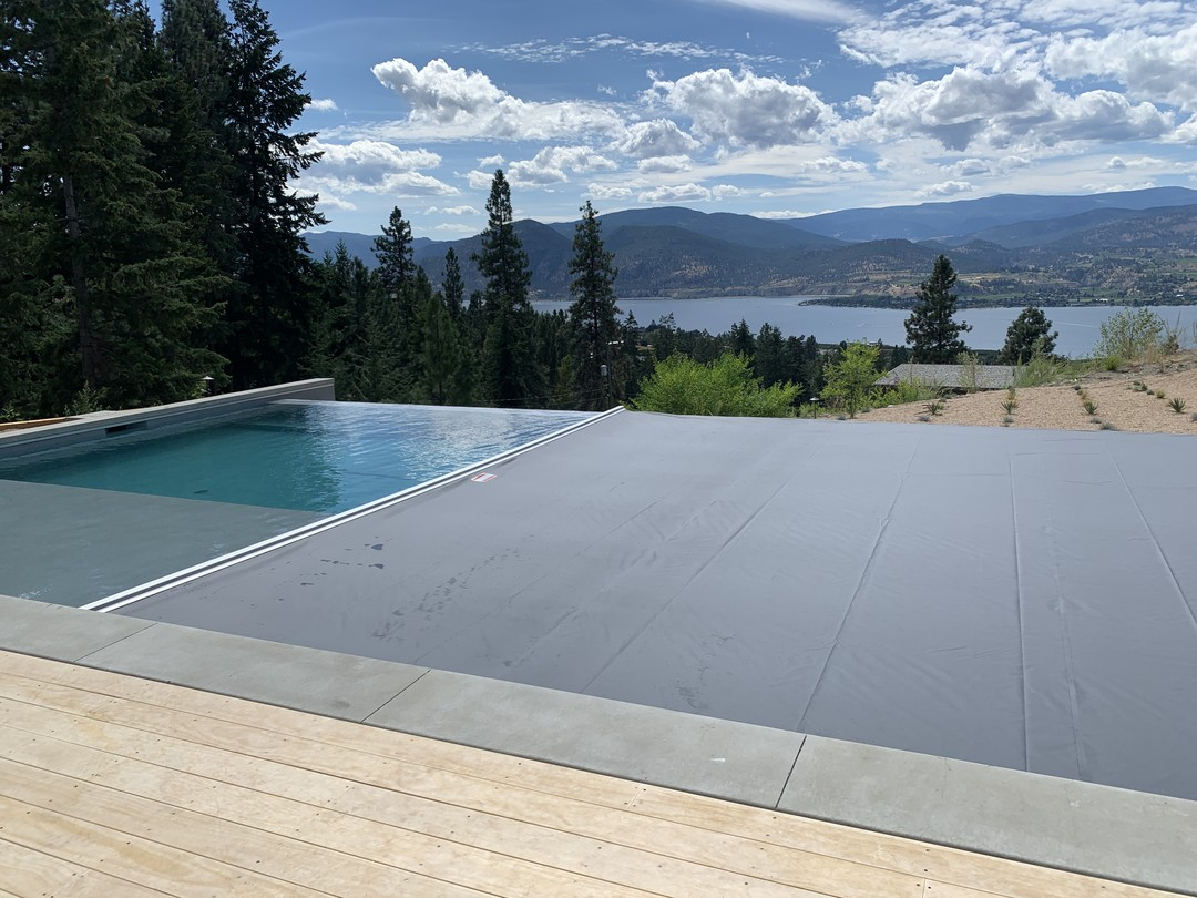 Another Okanagan Automatic Pool Cover Installation