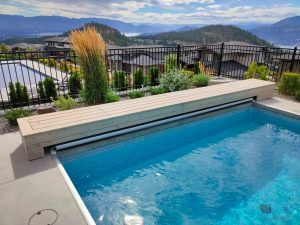 Kelowna Automatic Pool Cover Track Cover
