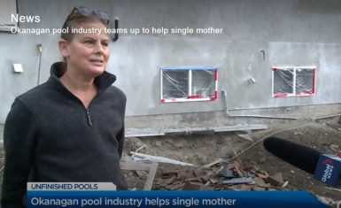 Pool Patrol and Reflection Pools Help Out a Kelowna Mom