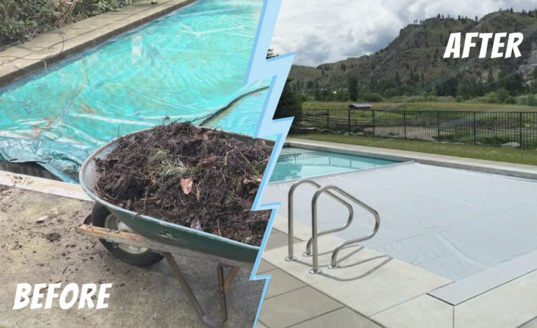 Pool Cover facelift Kelowna and Vancouver