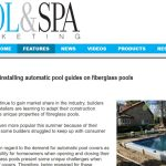Installing Auto Pool Cover Guides For Fibreglass Pools